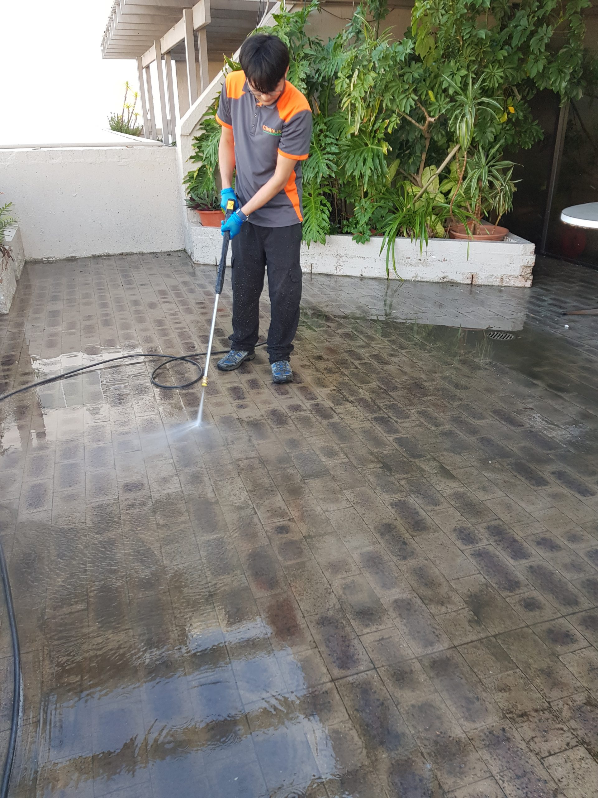Floor Washing